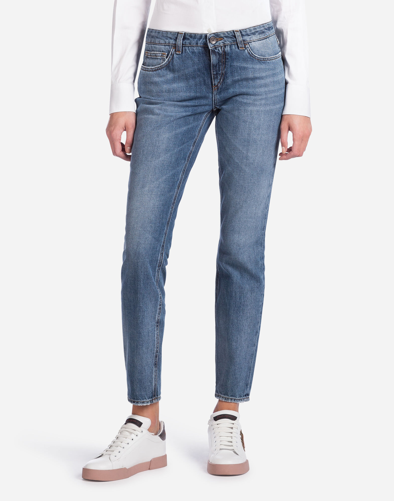 PRETTY FIT JEANS IN NON-STRETCH DENIM