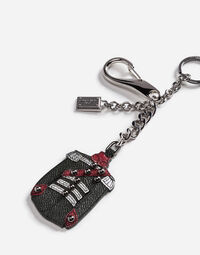 KEYCHAIN WITH A BRAIDED CHARM