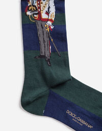 COTTON SOCKS WITH EMBROIDERY