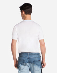 T-SHIRT IN COTTON WITH PLATE