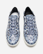 LONDON SNEAKERS IN PRINTED LEATHER