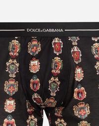 Dolce&Gabbana PRINTED COTTON BOXERS