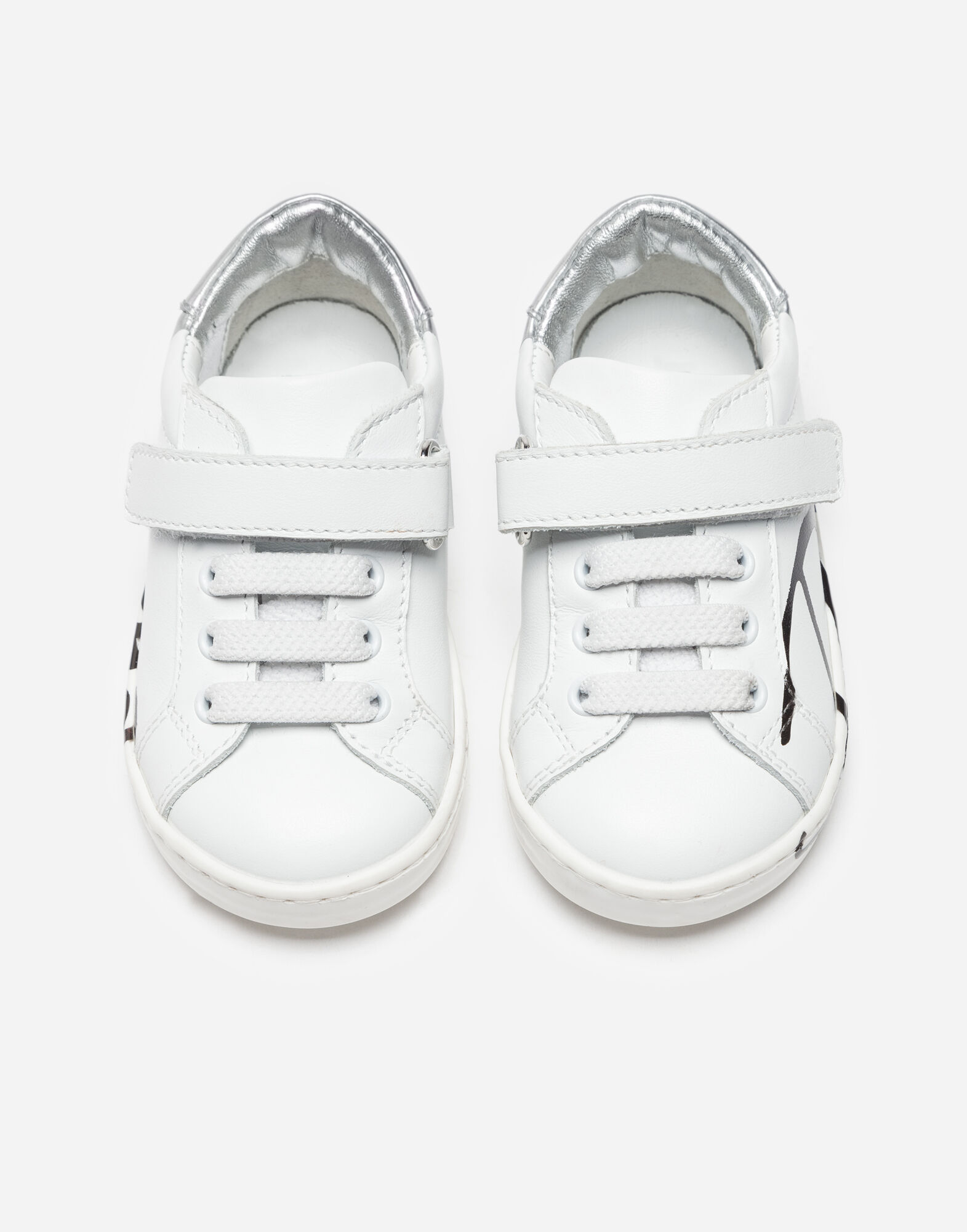 FIRST STEPS LEATHER SNEAKERS