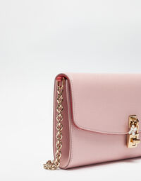 DOLCE CLUTCH IN DAUPHINE LEATHER