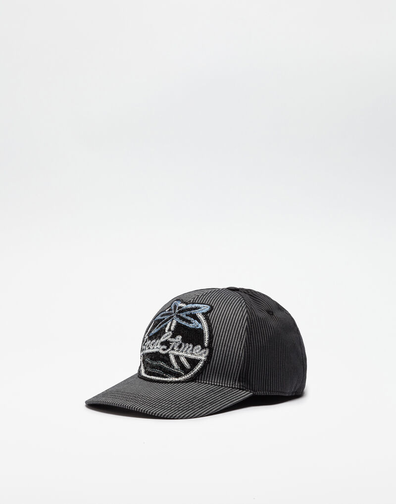 BASEBALL CAP WITH PATCH