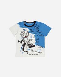 Dolce&Gabbana PRINTED COTTON T-SHIRT