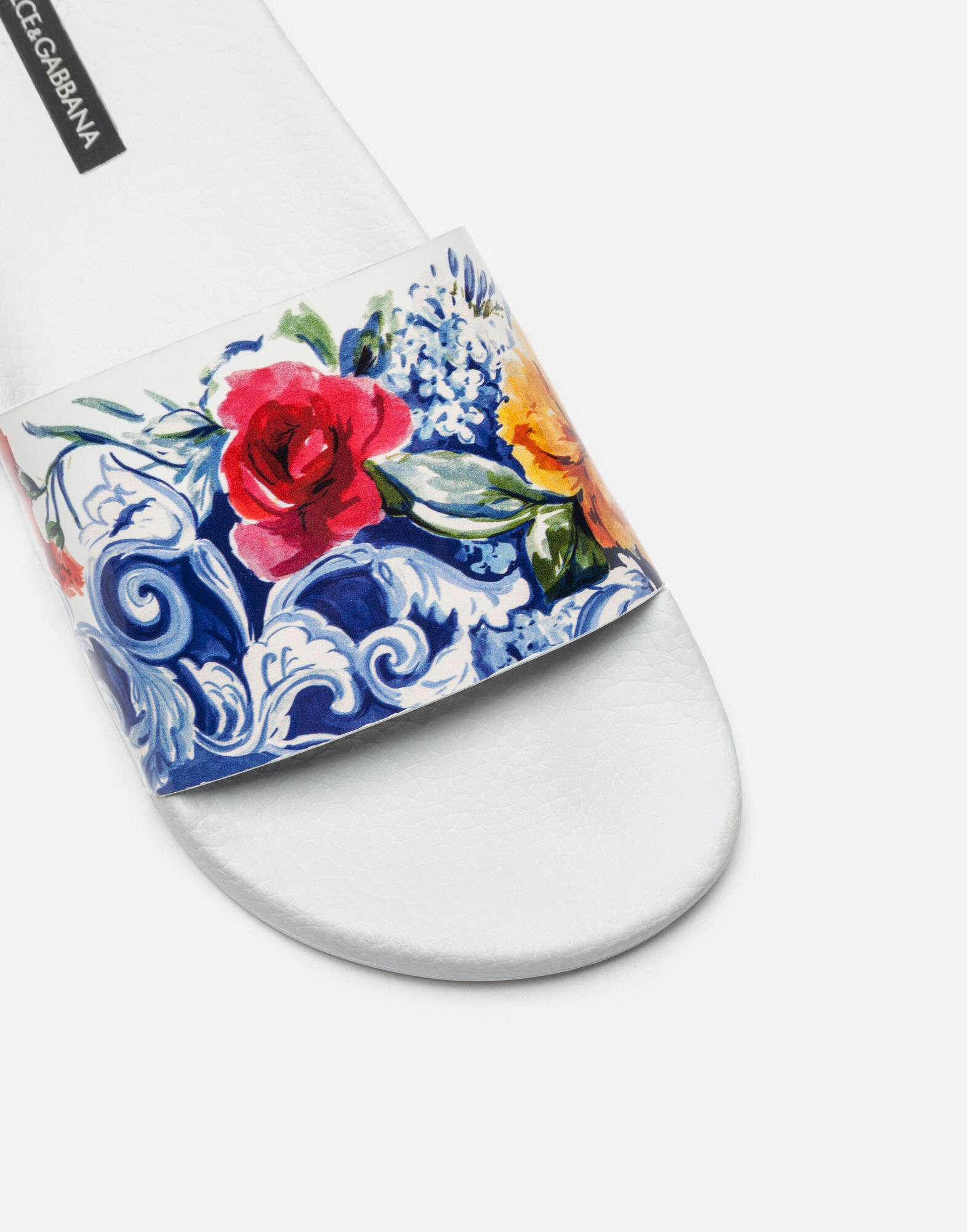 RUBBER SLIPPERS WITH PRINT