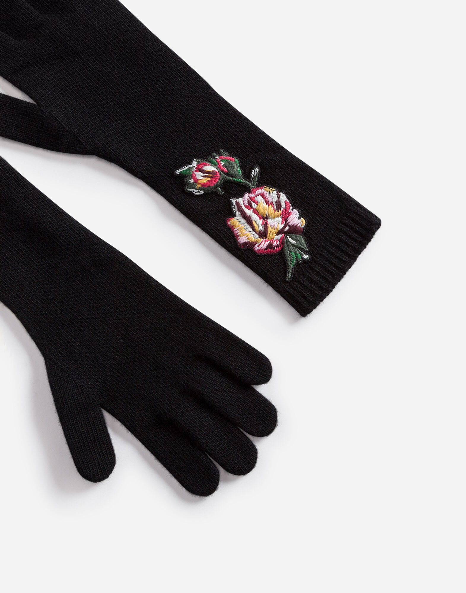 WOOL GLOVES WITH PATCHES