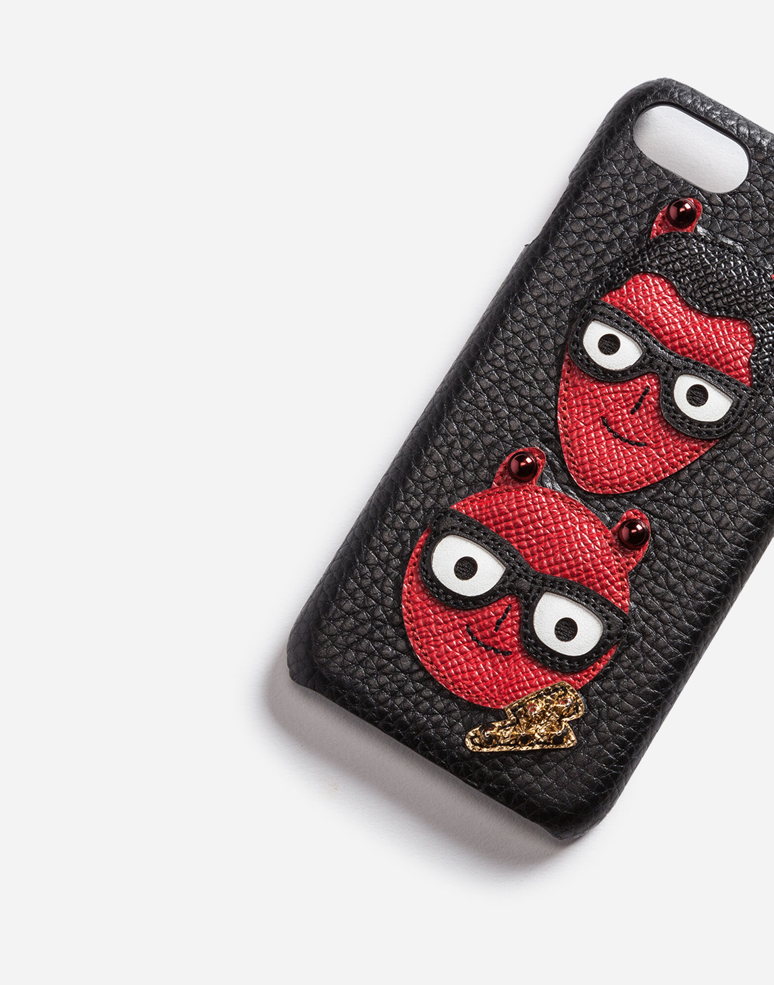 IPHONE 7 COVER WITH PATCHES OF THE DESIGNERS