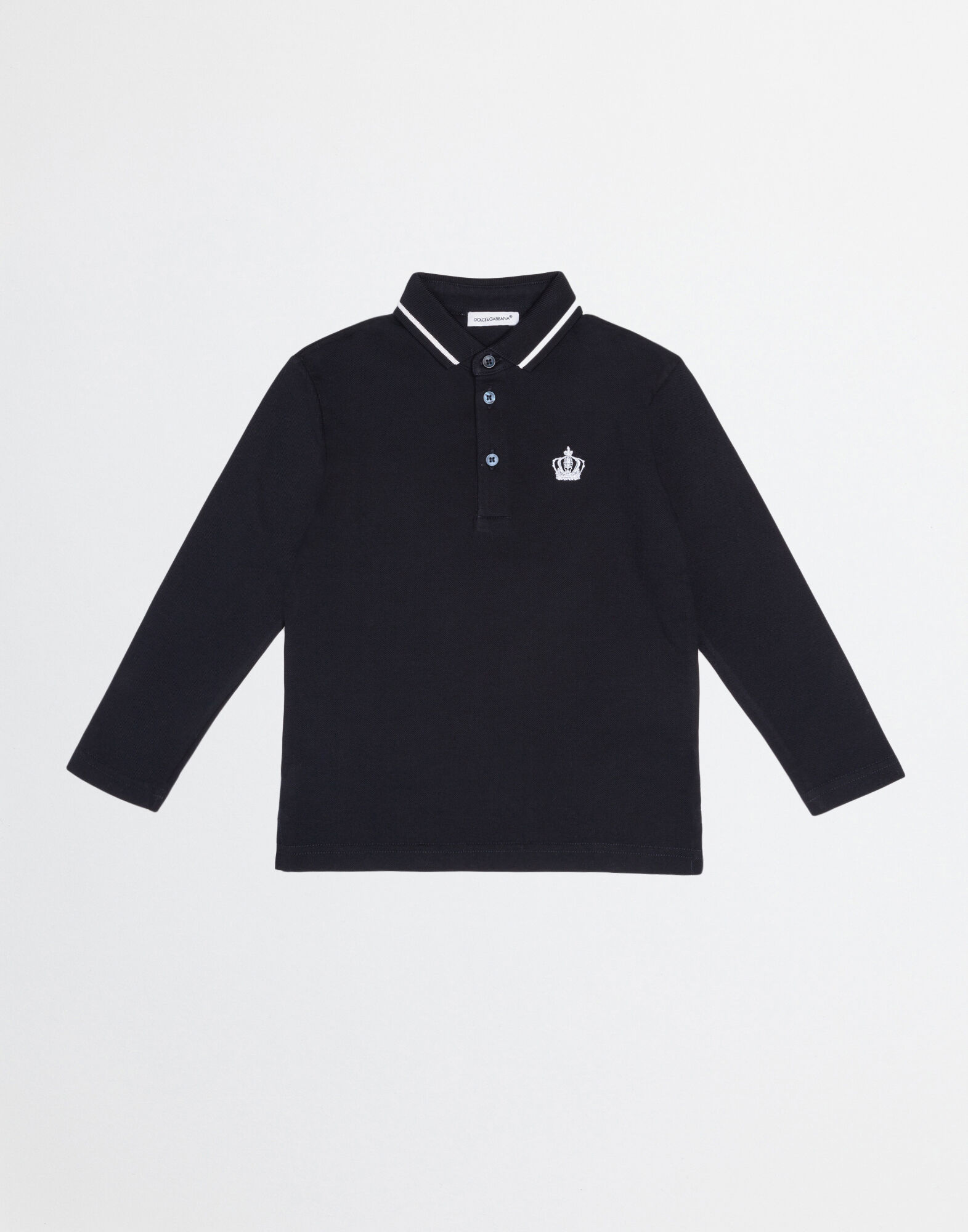 POLO SHIRT IN COTTON PIQUET