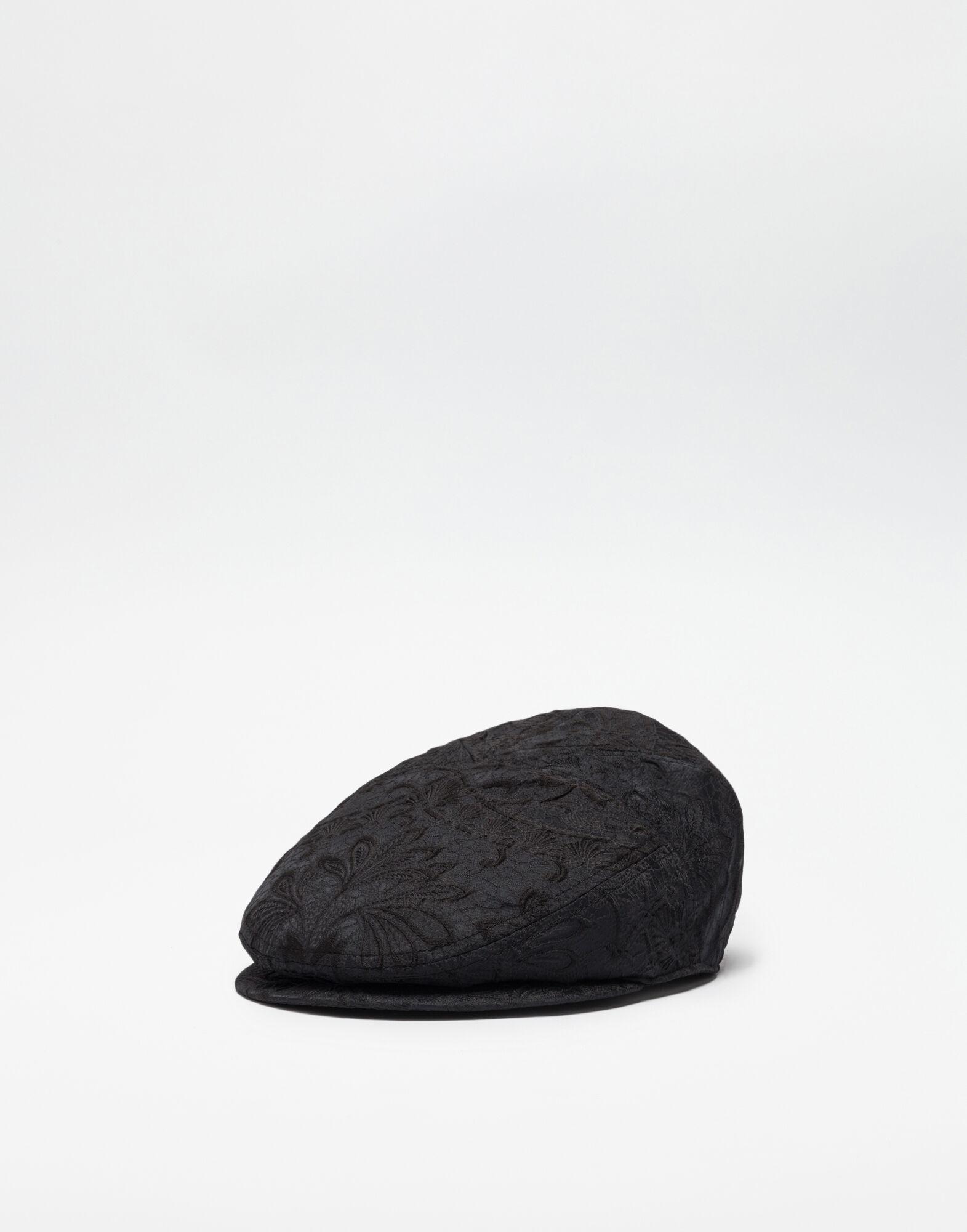 JACQUARD FLAT CAP