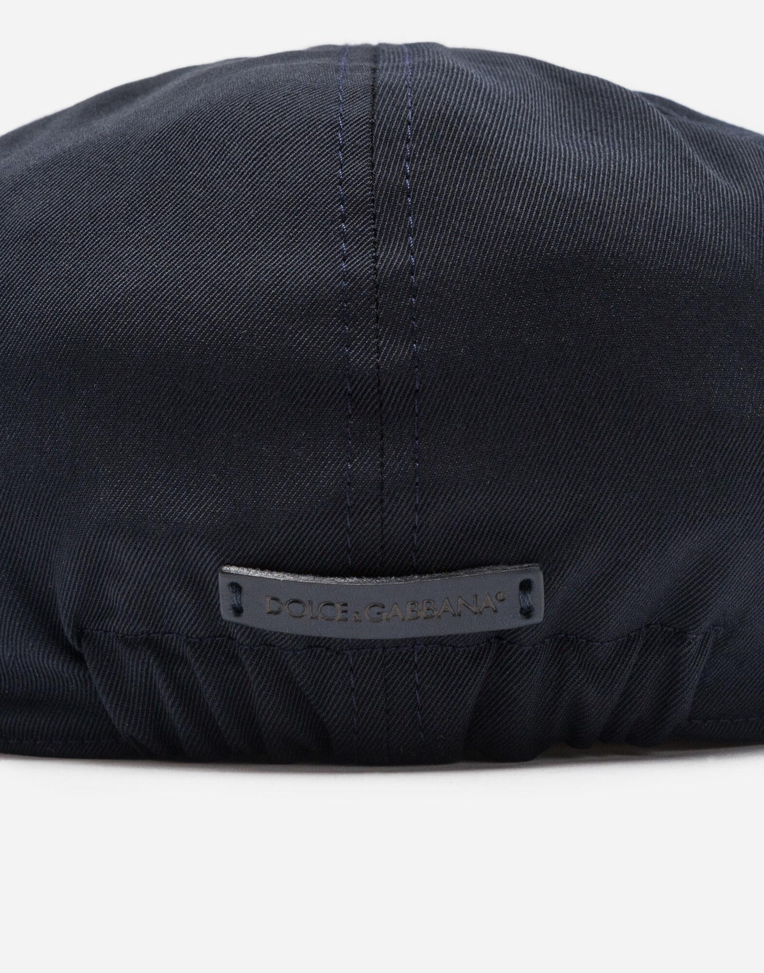 FLAT CAP IN COTTON