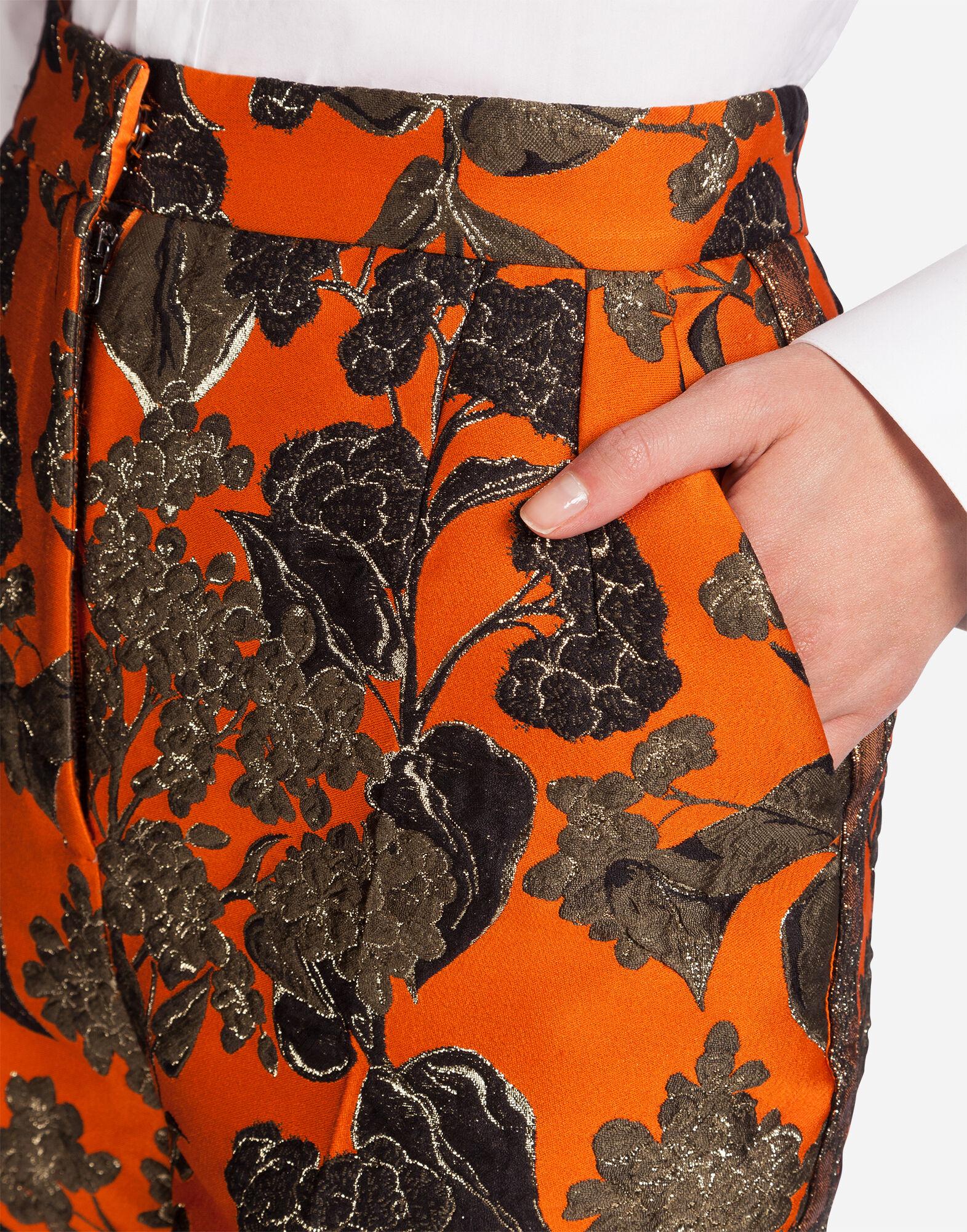 LUREX JACQUARD PANTS