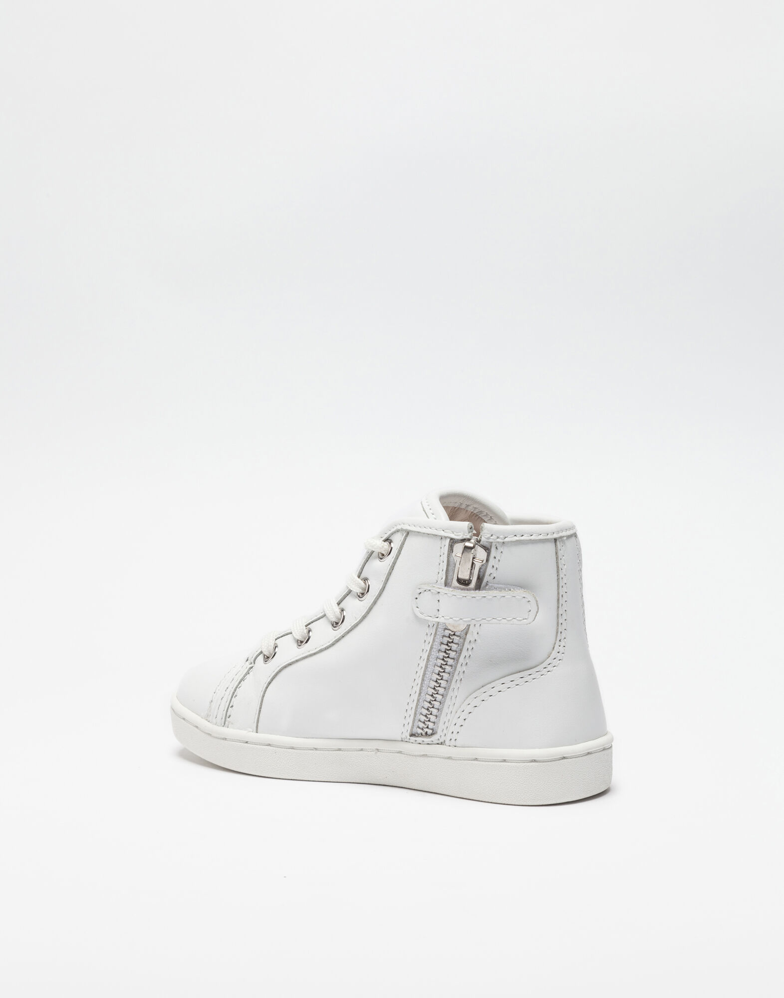 HIGH TOP-SNEAKERS IN NAPA LEATHER