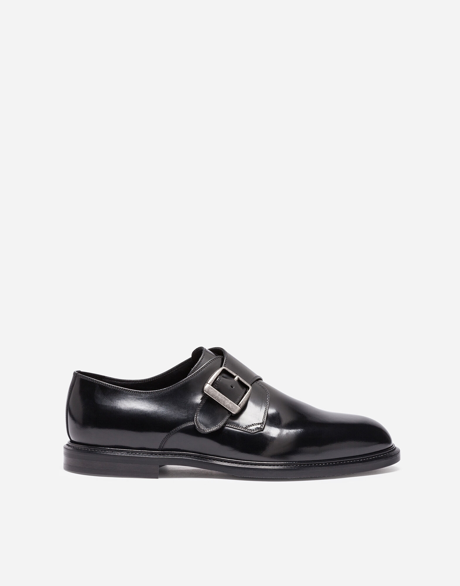 LEATHER MONK STRAP SHOES