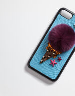 IPHONE 7 COVER WITH FUR DETAIL