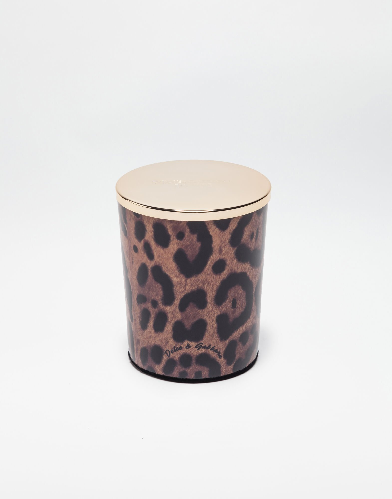 SCENTED WAX CANDLE WITH PRINTED GLASS