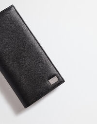 DAUPHINE LEATHER VERTICAL WALLET