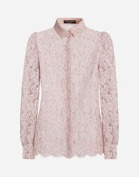 SHIRT IN CORDONETTO LACE
