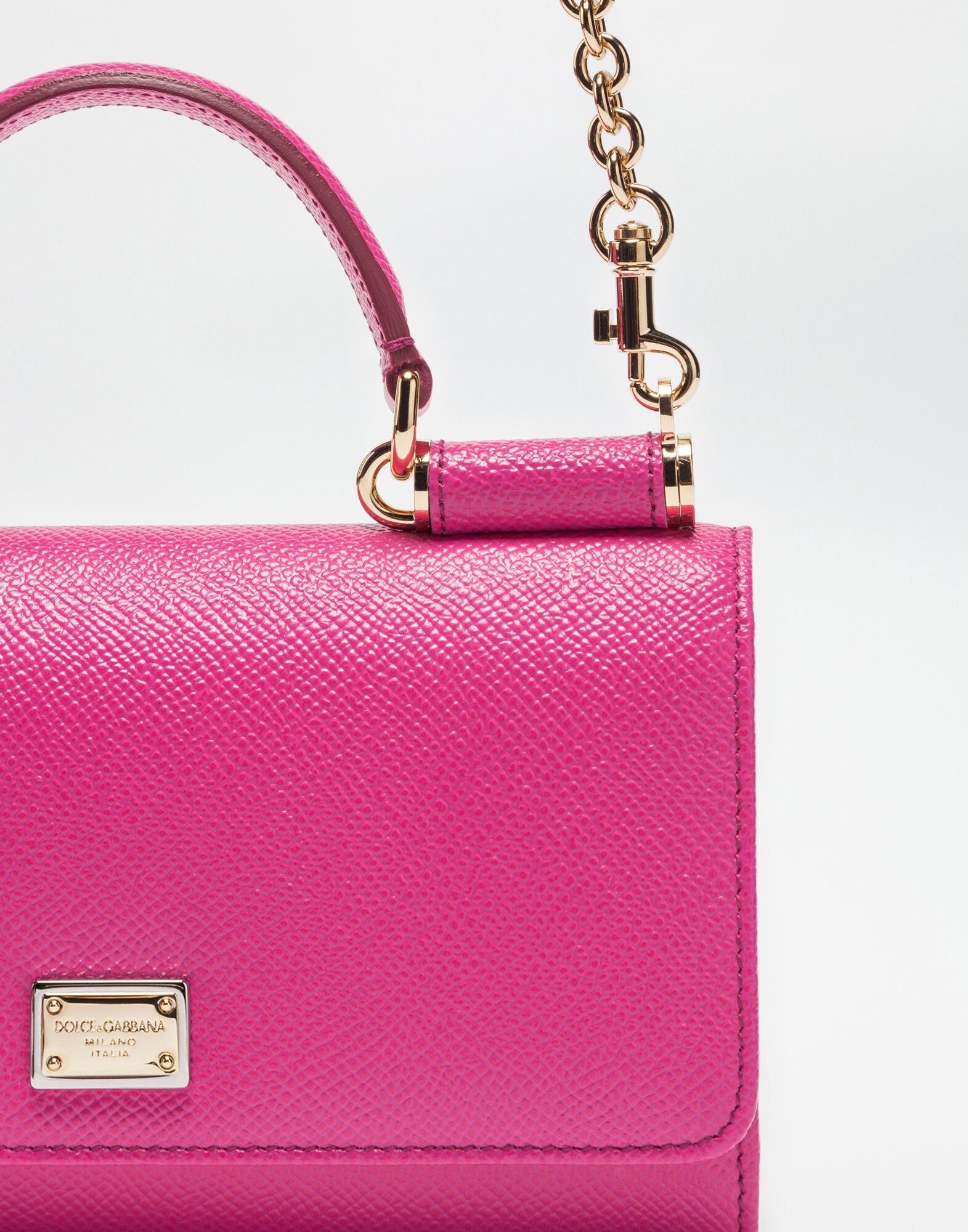 MIN VON BAG IN DAUPHINE LEATHER