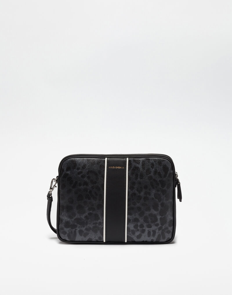 CRESPO LEO POUCH WITH PIPING