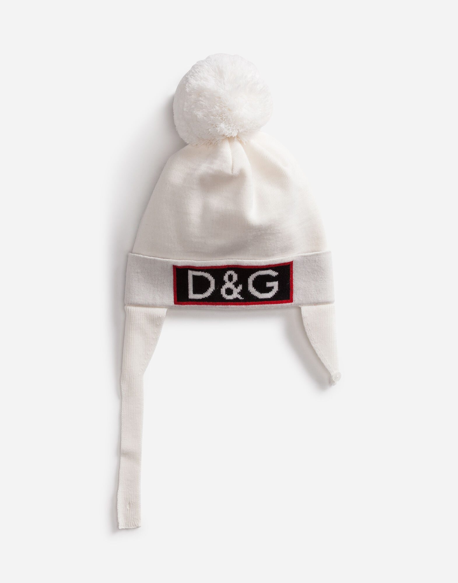 Dolce&Gabbana WOOL HAT WITH EMBROIDERY