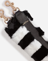 LAPIN AND LEATHER STRAP
