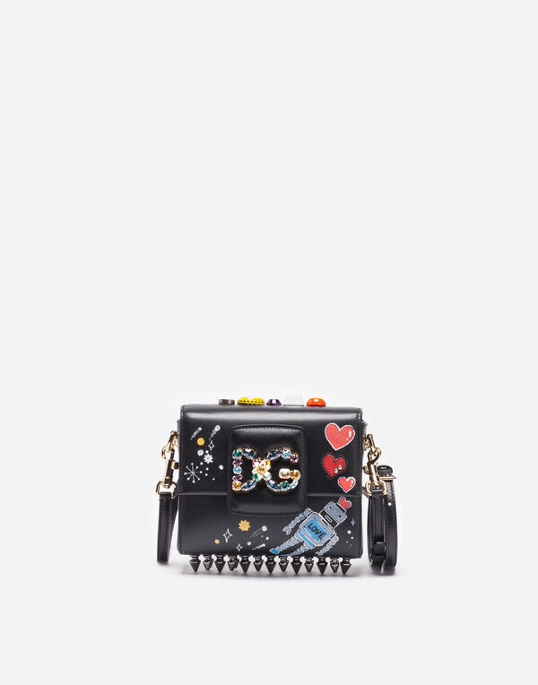 DG MILLENNIALS BAG IN PRINTED LEATHER