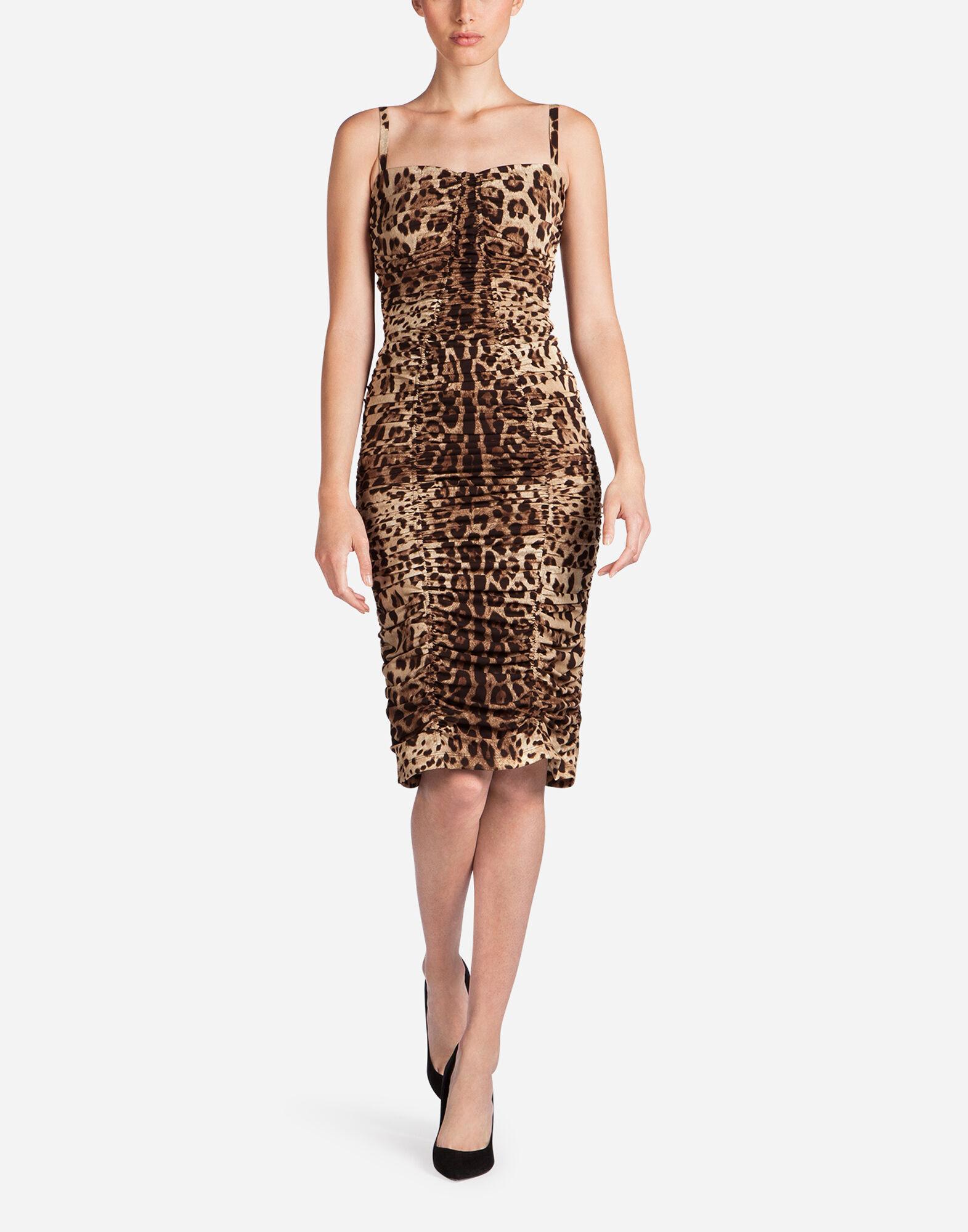 Women's dresses: clothing for women Dolce&Gabbana - LEOPARD PRINT ...