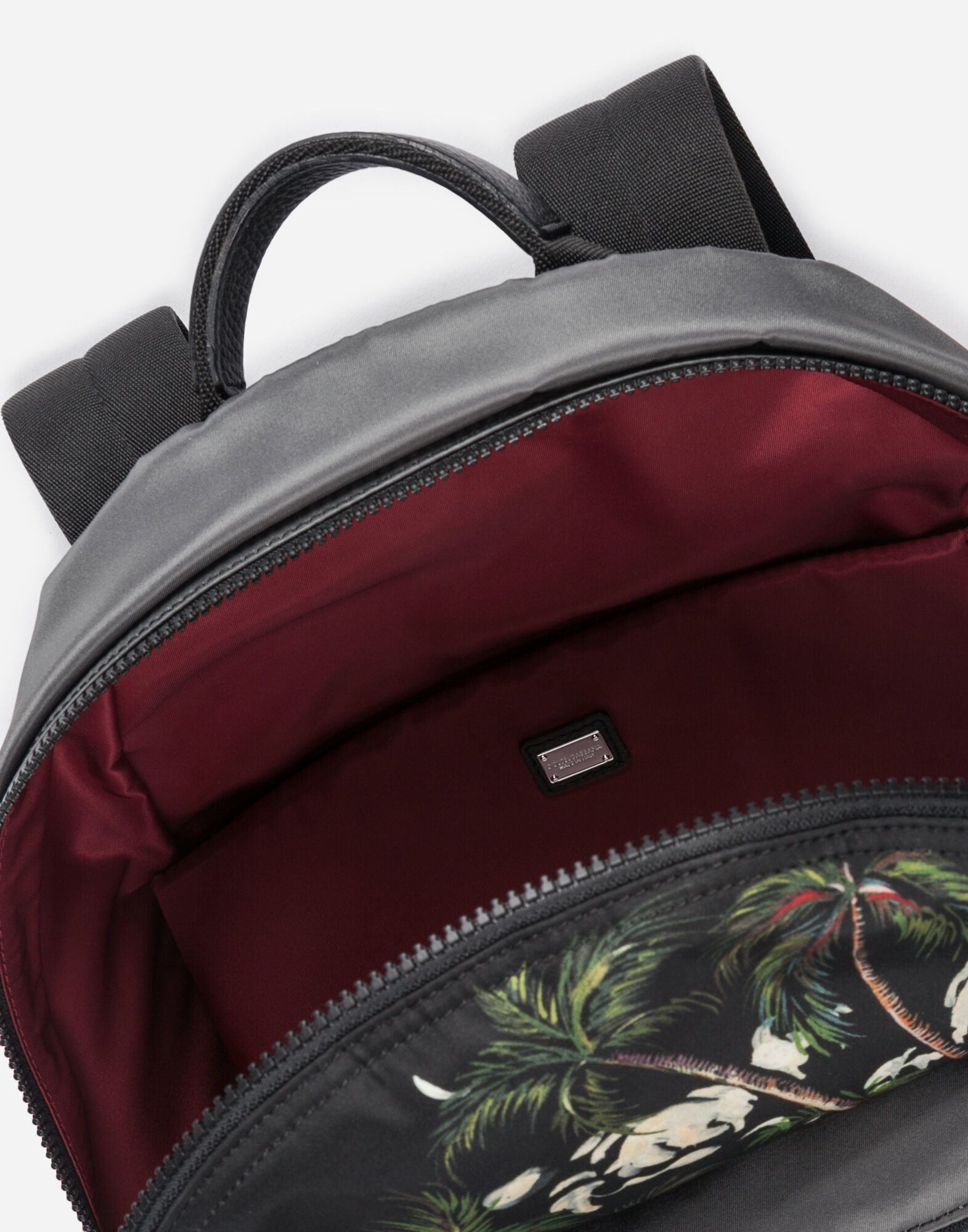 VULCANO BACKPACK IN PRINTED NYLON