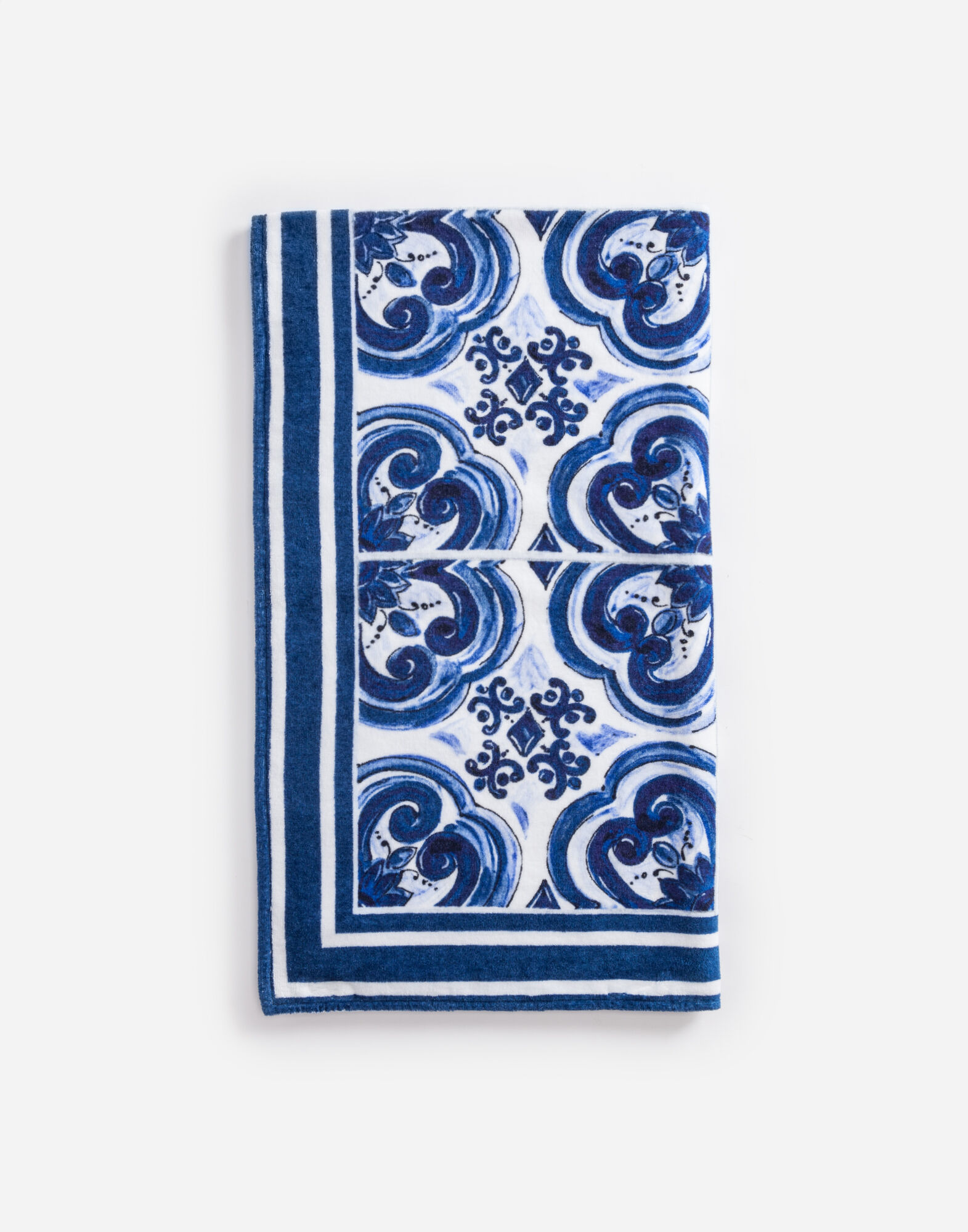PRINTED COTTON BEACH TOWEL