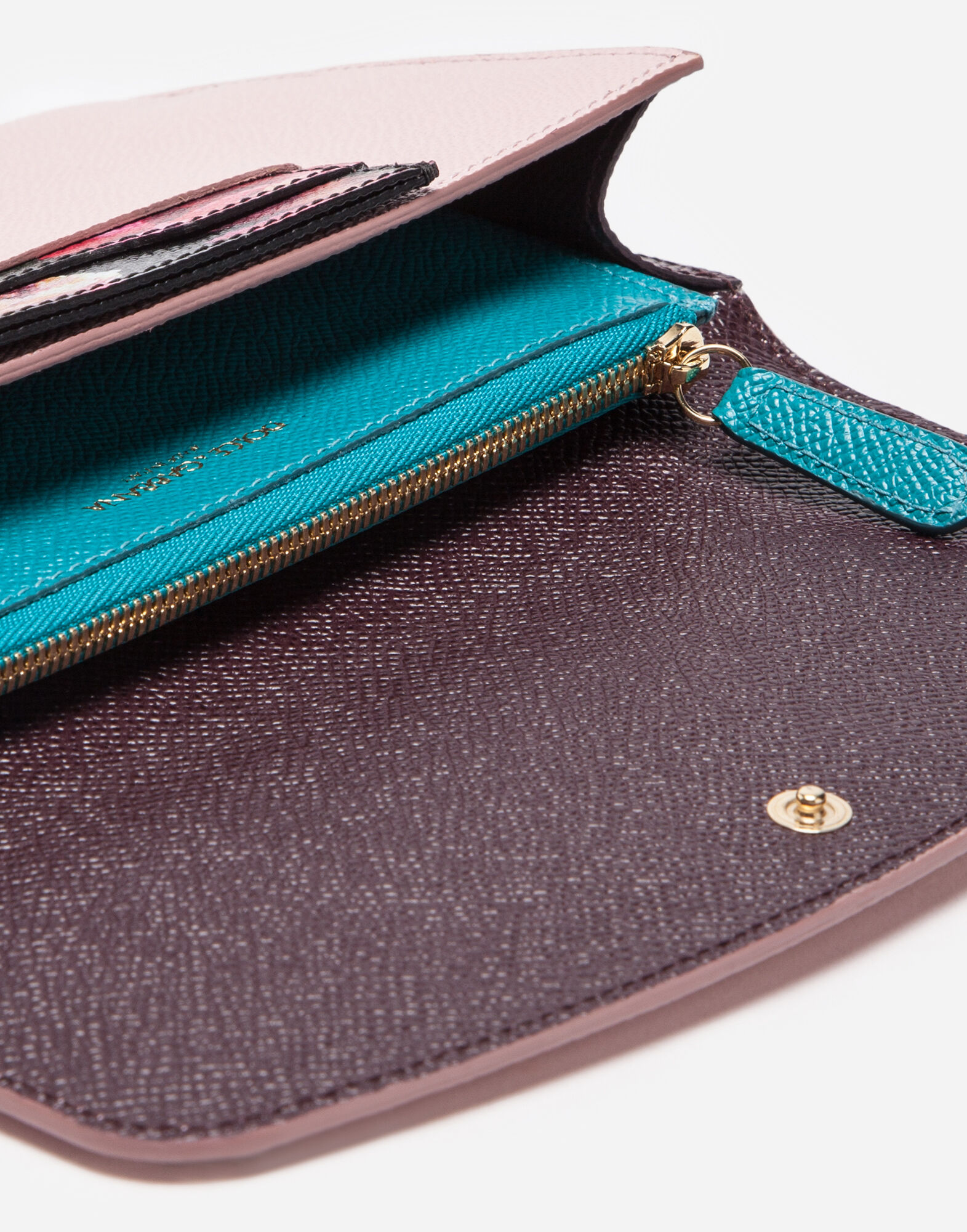 Dolce&Gabbana LEATHER MULTI-FUNCTIONAL WALLET