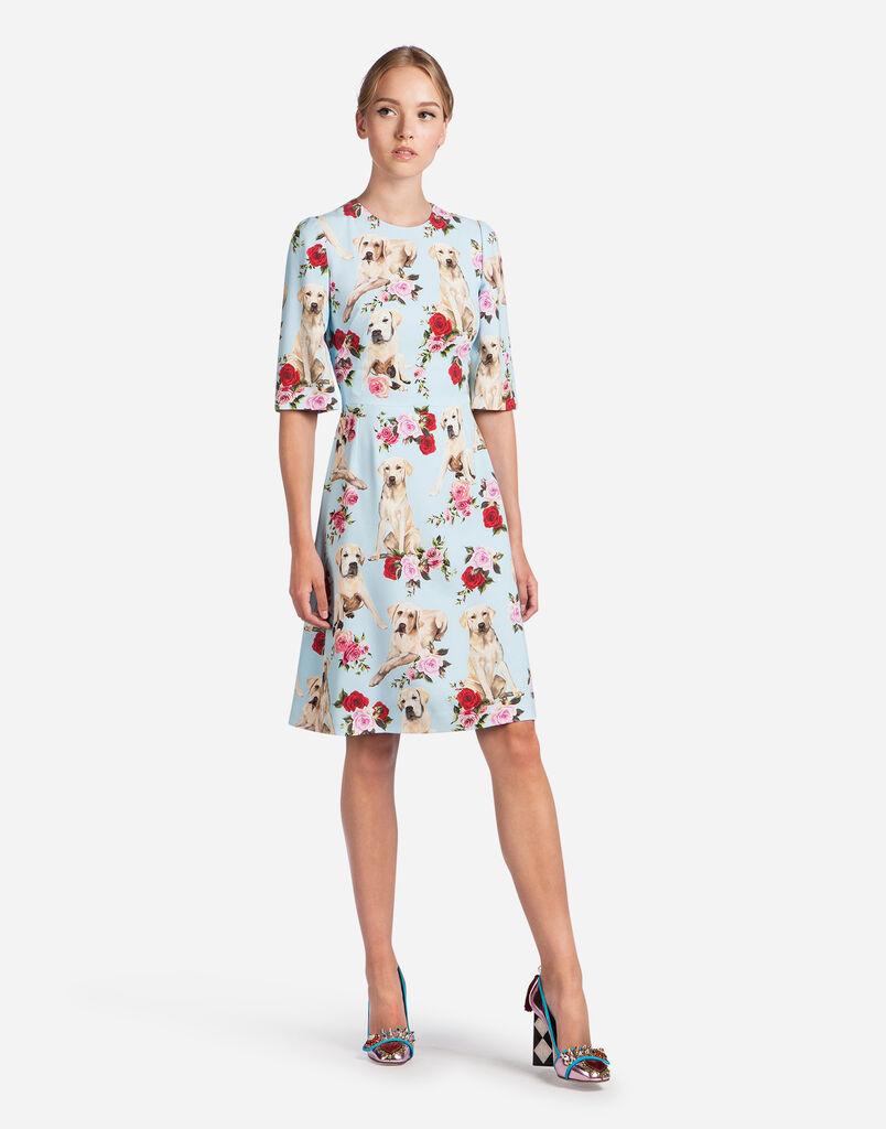 Dolce&Gabbana PRINTED CADY DRESS