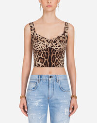 LEOPARD PRINT CADY BUSTIER
