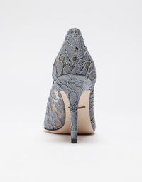 PUMP IN TAORMINA LACE WITH CRYSTALS