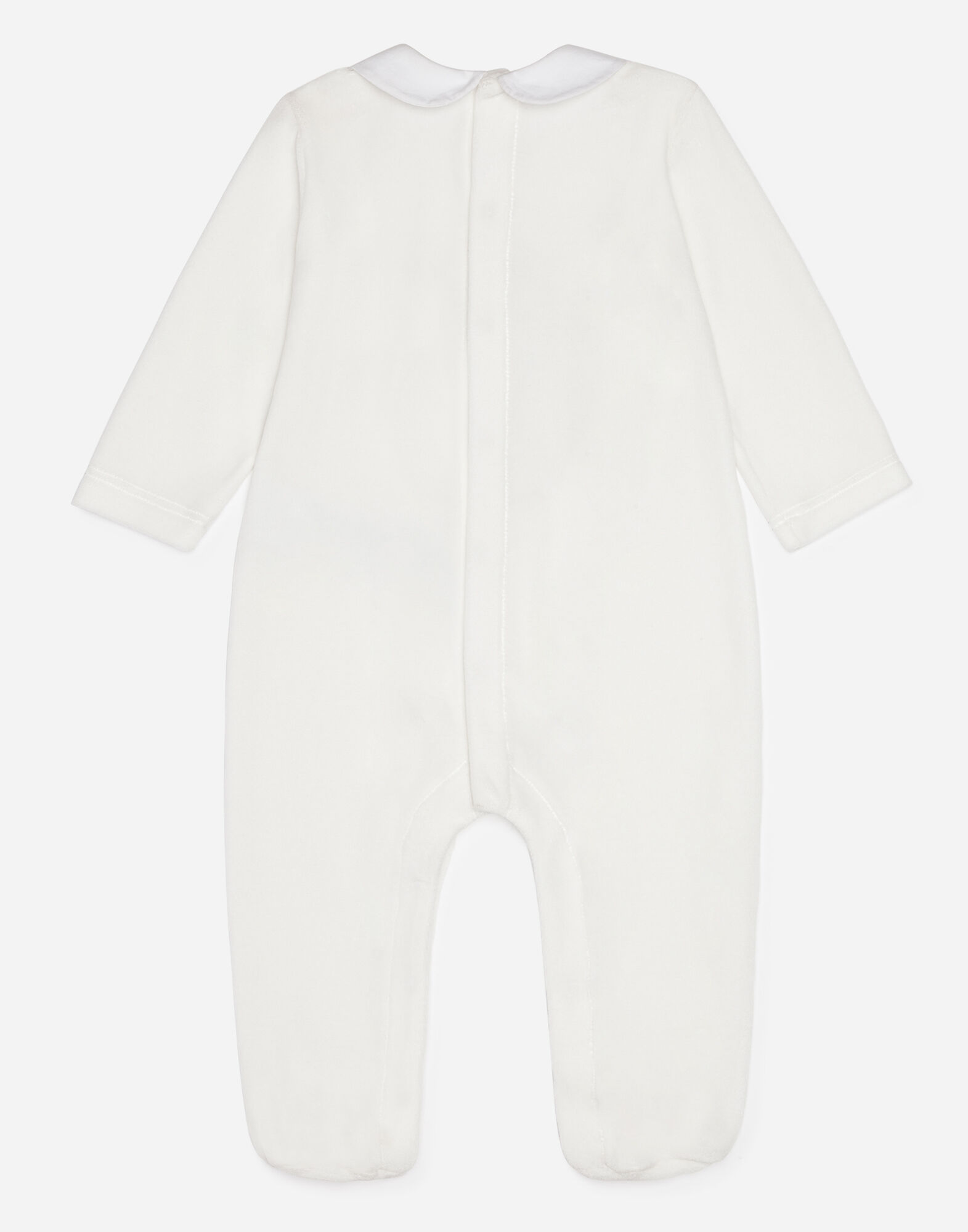 COTTON ONESIE WITH MIMMO PATCH