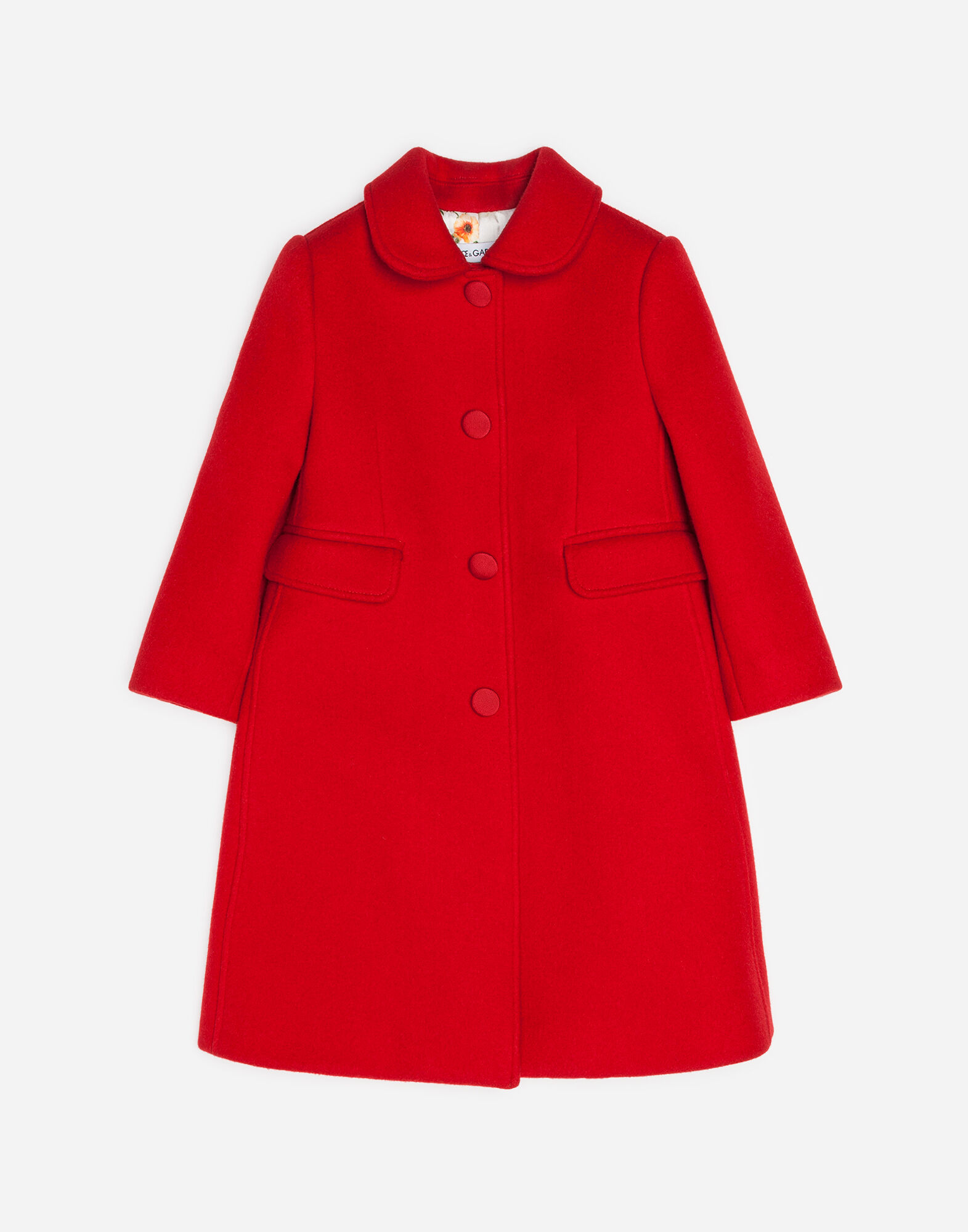 Dolce&Gabbana COAT IN WOOL AND CASHMERE BLEND