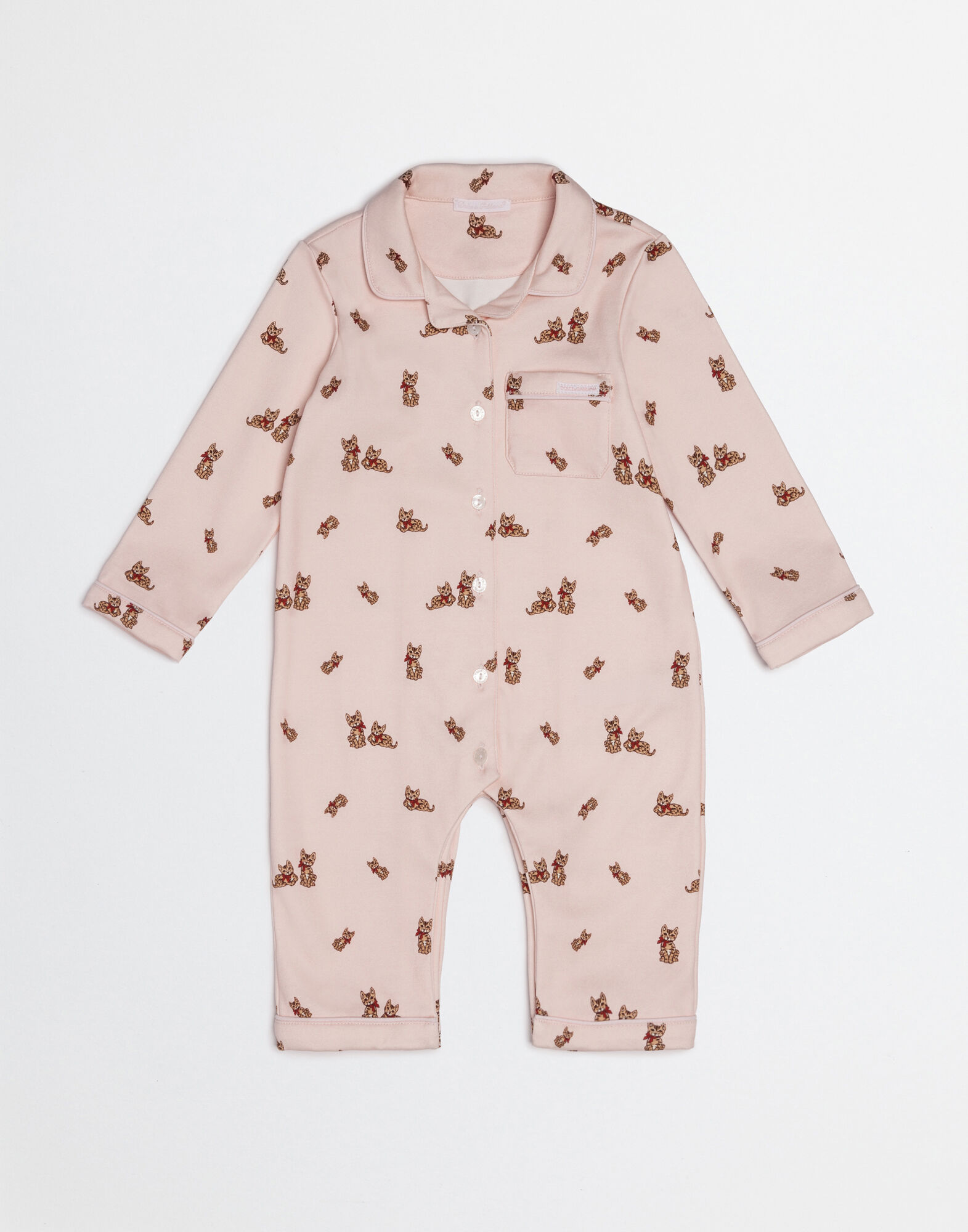 ZAMBIA ONESIE IN PRINTED COTTON