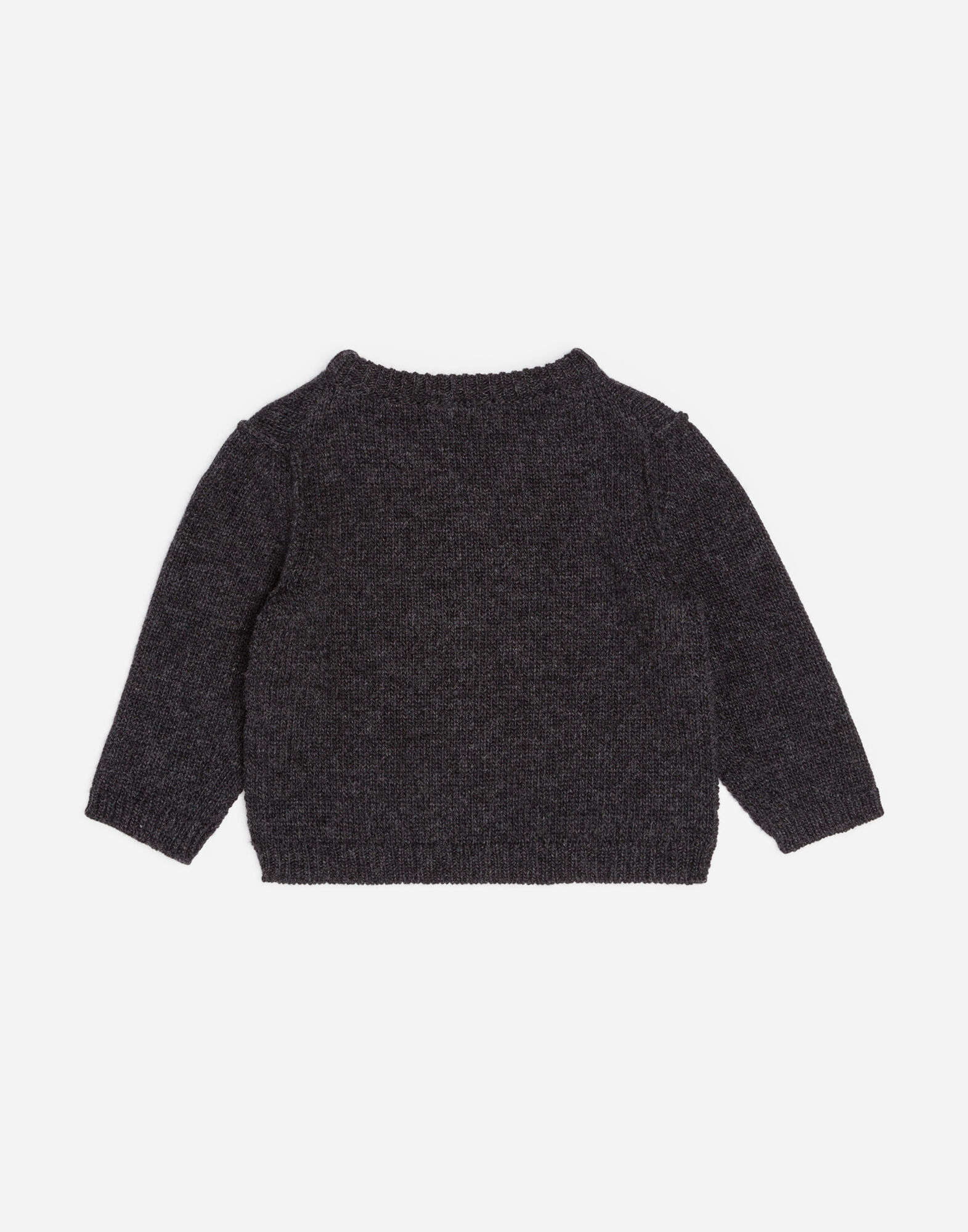 WOOL KNIT WITH EMBROIDERY