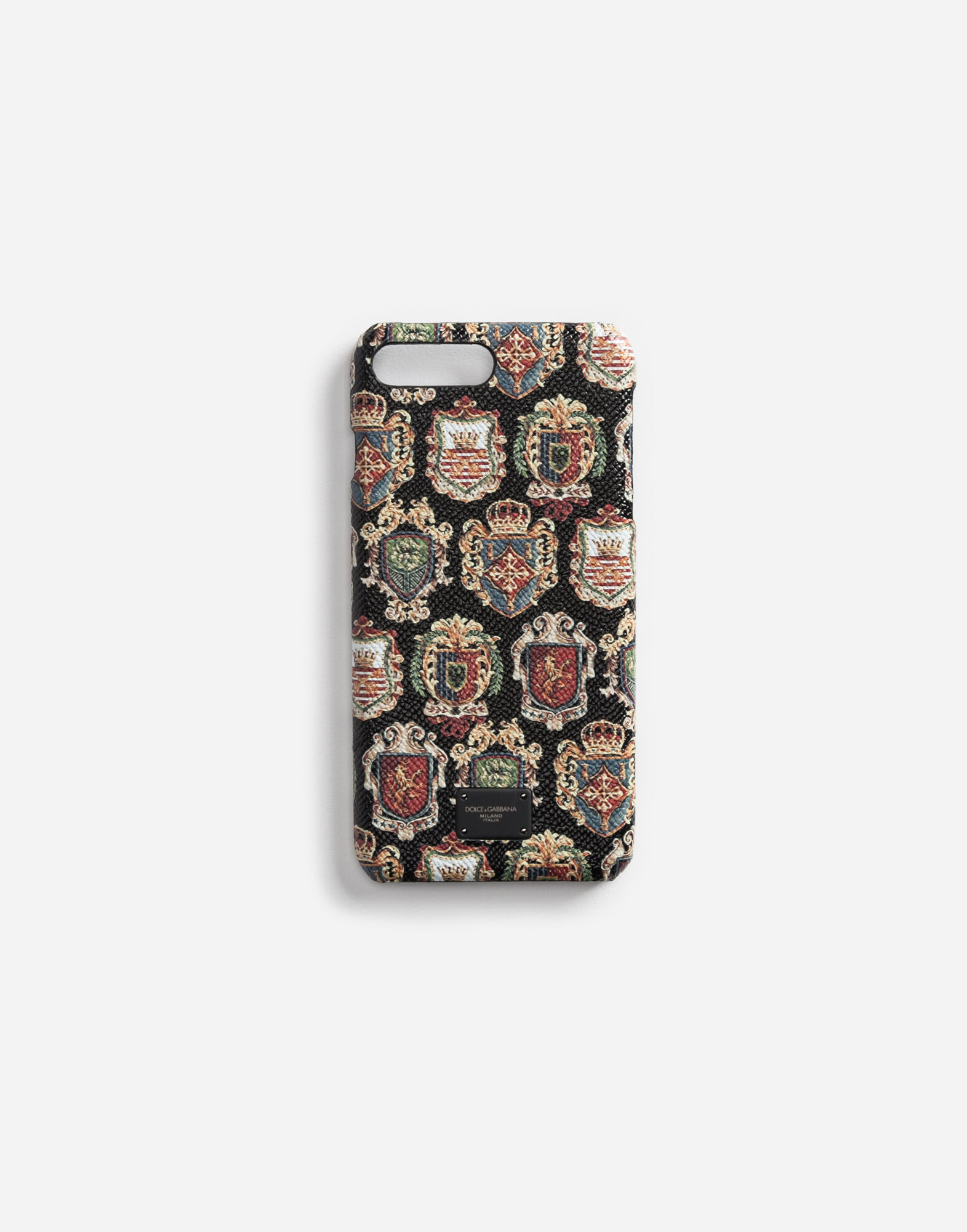 IPHONE 7 PLUS COVER IN PRINTED LEATHER