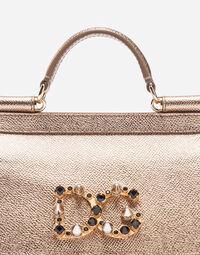 Dolce&Gabbana LEATHER MINI SICILY BAG