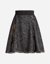 SKIRT WITH PRINTED DETAILS