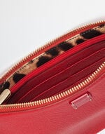 TUMBLED LEATHER POUCH