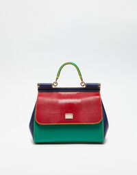 MEDIUM SICILY MIX HANDBAG IN LEATHER