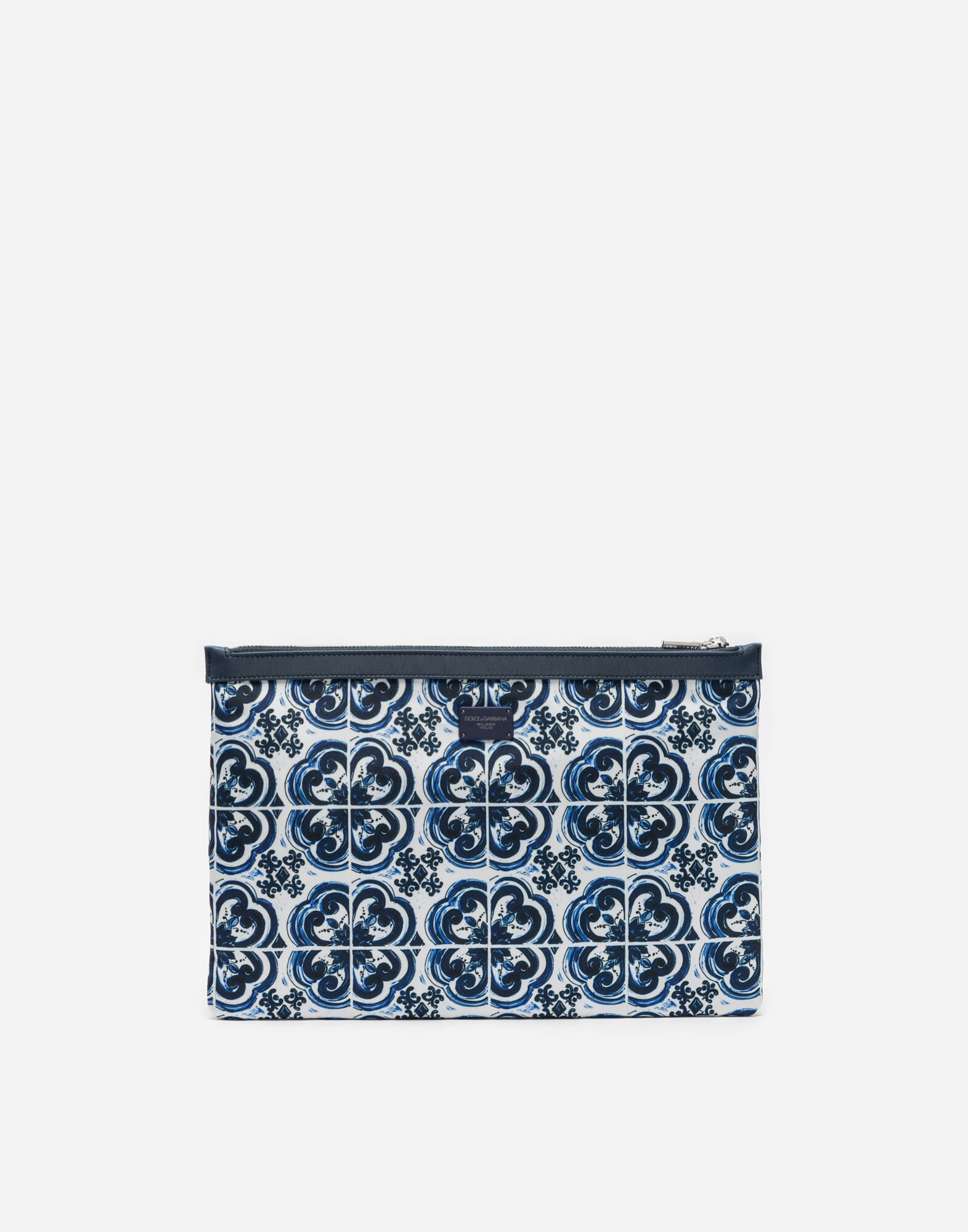 NYLON PRINTED PURSE