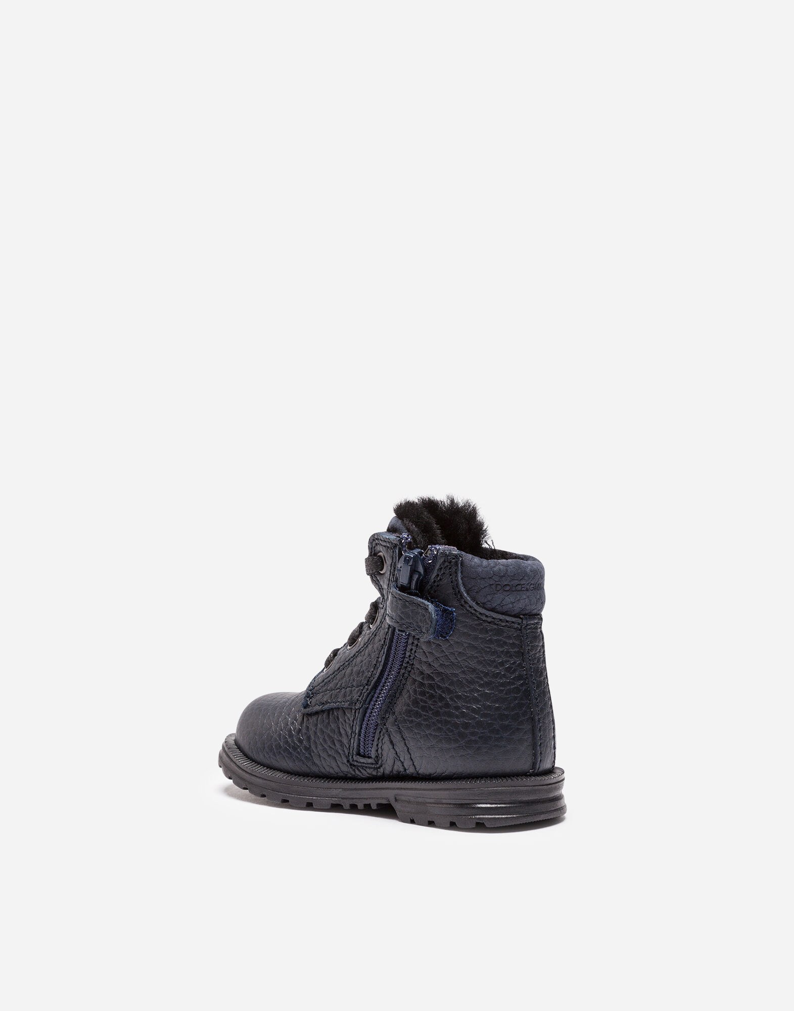 KID'S FIRST STEPS LEATHER ANKLE BOOTS