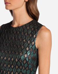 LUREX JACQUARD DRESS