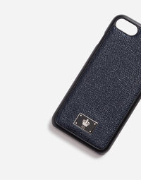 iPHONE 7 COVER WITH DAUPHINE LEATHER DETAIL