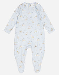 PRINTED COTTON ONESIE