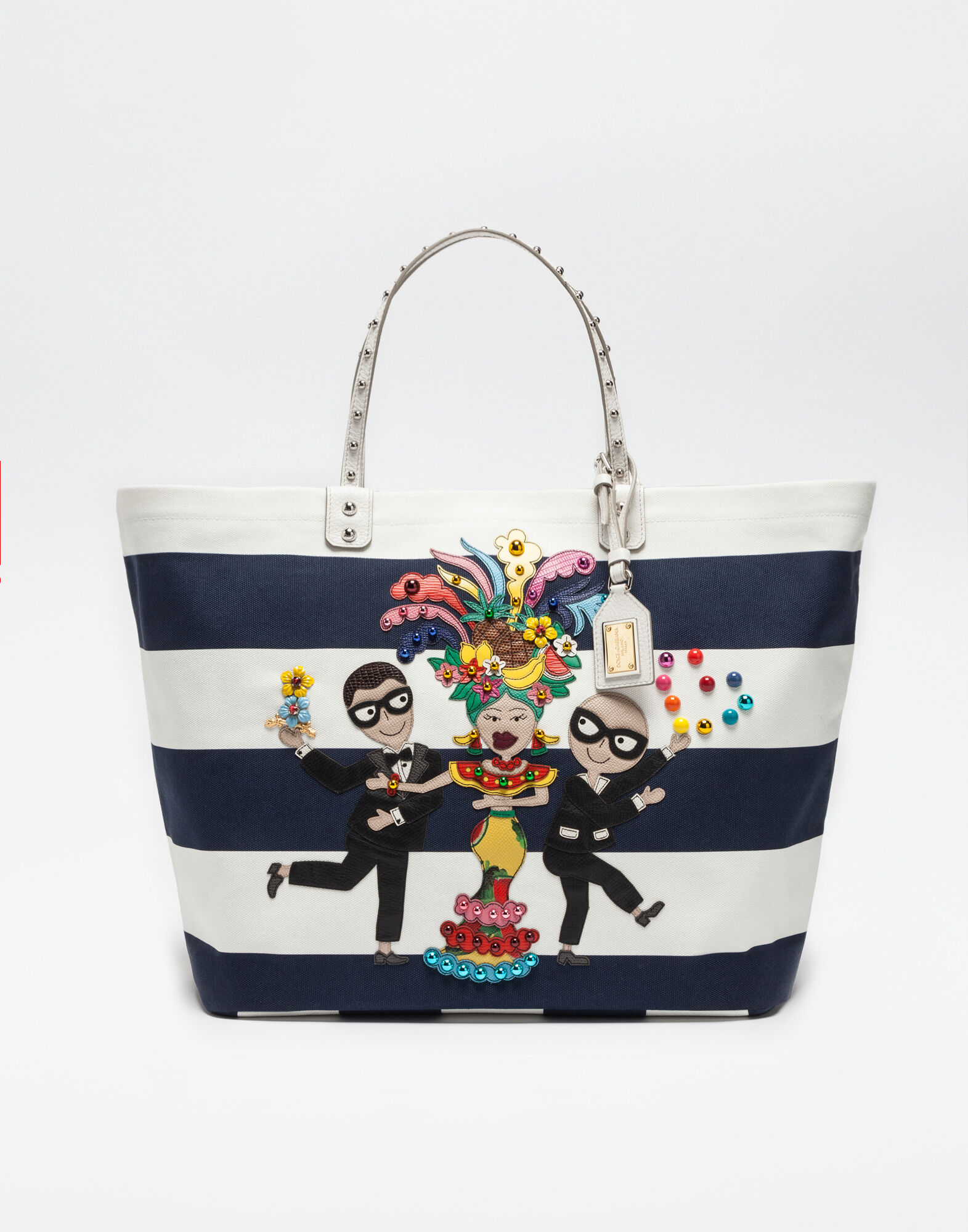 Tote bags for women | Dolce&Gabbana - BEATRICE BAG IN PRINTED ...